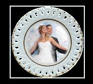 Tanier svadobný vykrajovaný