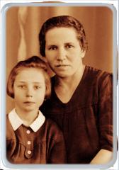 Foto na hrob - Obdĺžnik farebné provedení Sepia