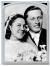 Stojanček na foto na hrob - Klasik 9x7 cm v černobílém zpracování
