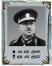 Stojánek na foto na hrob - Reliéfní 8x6 cm s textem